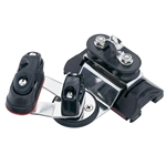 Harken 1250 Small Boat CB Car w/Pivoting Fixed Sheaves & Cams  2738