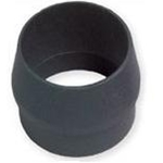 "Forespar 4.5"" pole to 4"" end reducer, aluminum"