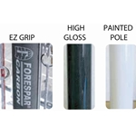 "Forespar carbon spinnaker pole  U.V. HIGH GLOSS FINISH - 4"" AND LARGER POLES"