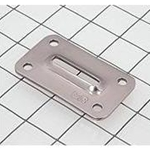 "Schaefer Chainplate Cover Slot Opening 1 1/2"" x 1/4"". 84-56"