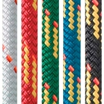 New England Ropes 8mm V-100 BLACK for running rigging on sailboats and yachts.