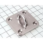 "Schaefer Pad Eye, Inv Cast, Square, 3""(76mm) 97-42"