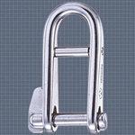 Wichard 3/16 KEY PIN HR SHACKLE WITH BAR