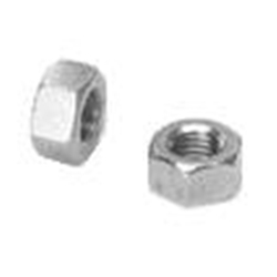 Hex Nut, Stainless Steel - 1/4-28 LH