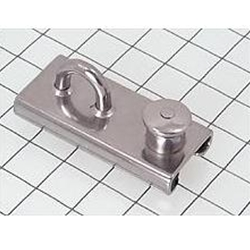 "Schaefer Jib Block Slider Car, 1""x1/8""(25x3mm), Lined 750 lbs 17-59"