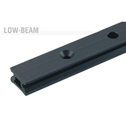 Harken Small Boat Low-beam CB Track w/100mm hole spacing  2720.600mm
