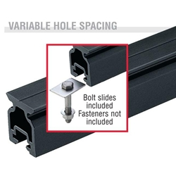 Harken Small Boat High-beam CB Slide Bolt Track  2721.1.8m