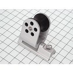 "Schaefer Twin Jib Sheet Lead Block, 1""x1/8""(25x3mm), Silver 32-88"